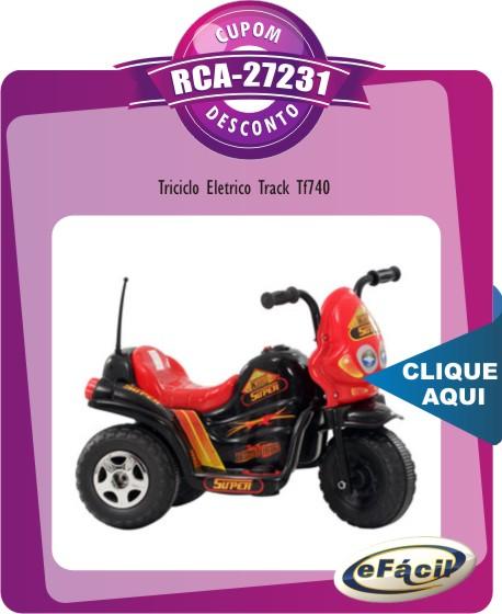 Super Triciclo Elétrico Track TF-740