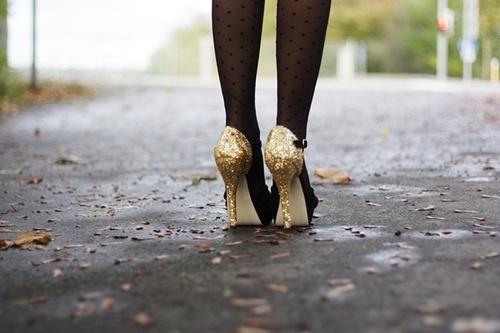 scarpe e collant