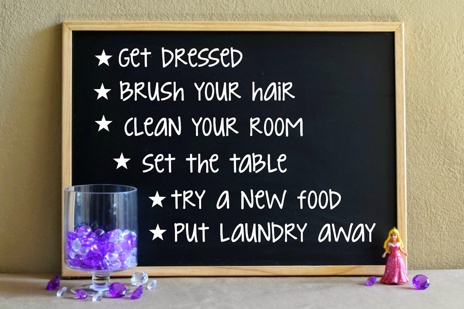 Mommy Testers, Princess reward system, easy reward system, DIY princess reward chart, #DisneyBeauties  #Shop