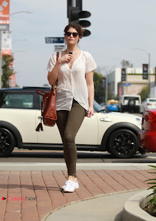 Gemma Arterton Pictures in Skinny Jeans out in Hollywood  0004