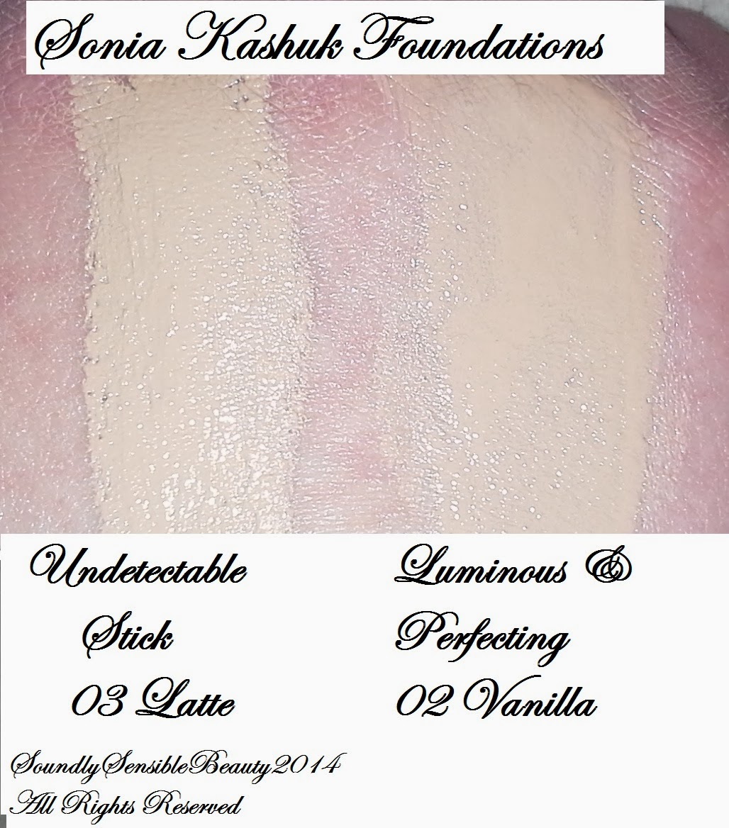 Sonia Kashuk Luminous Perfecting Foundation Swatch