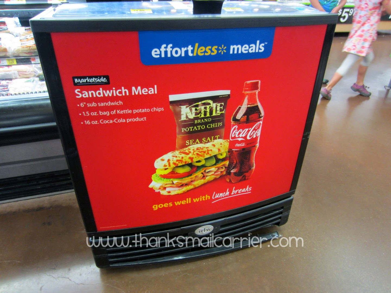 Walmart sandwich meal
