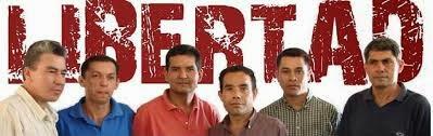 Libertad a los Dirigente Campesino Paraguayo
