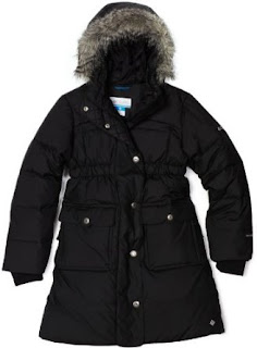 Columbia Girls 7-16 Snow Escape Long Down Jacket