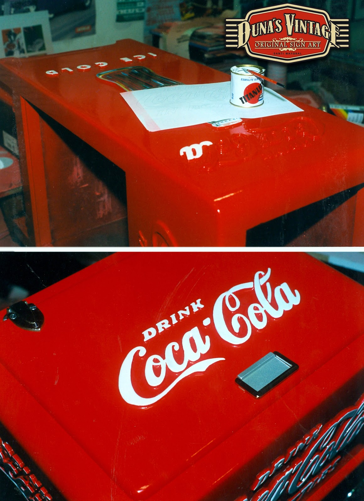 Duna s vintage nevera coca cola 40 duna s vintage - Nevera coca cola retro ...