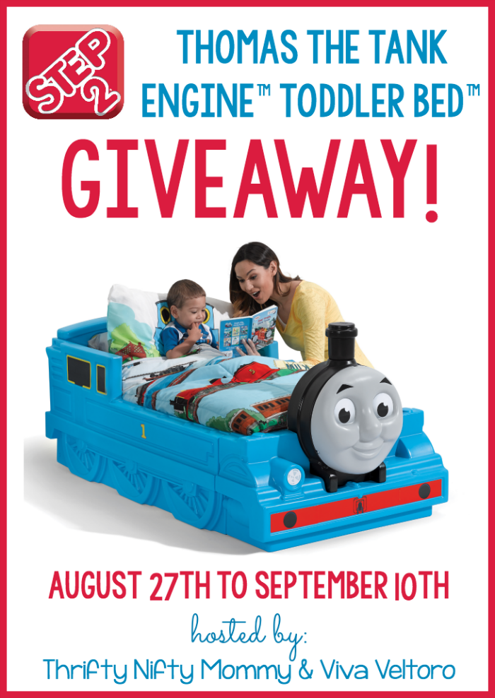 Thomas the Tank Engine Toddler Bed Giveaway