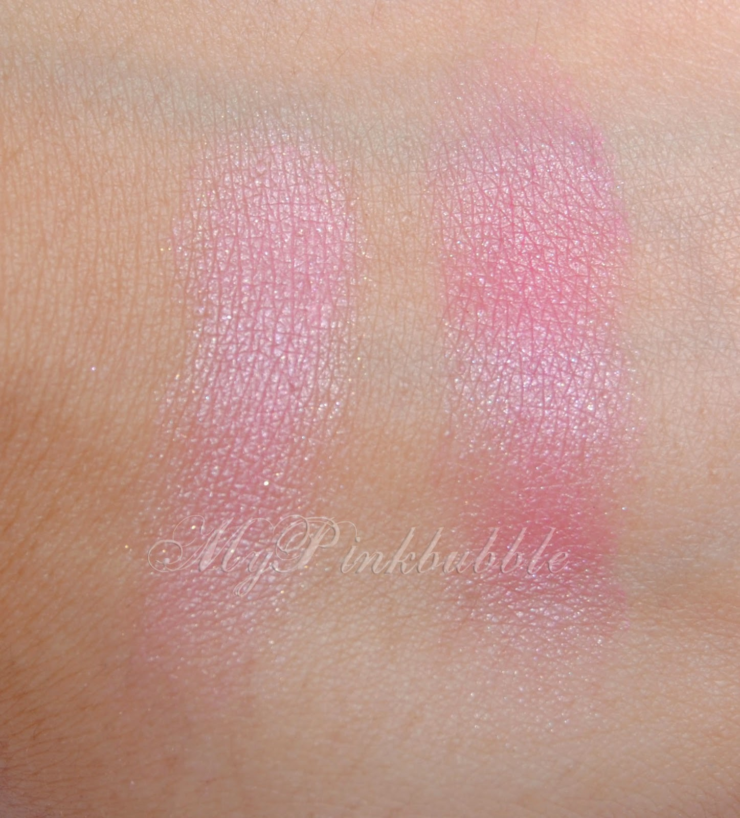 Physicians Formula Cashmere Rose swatch