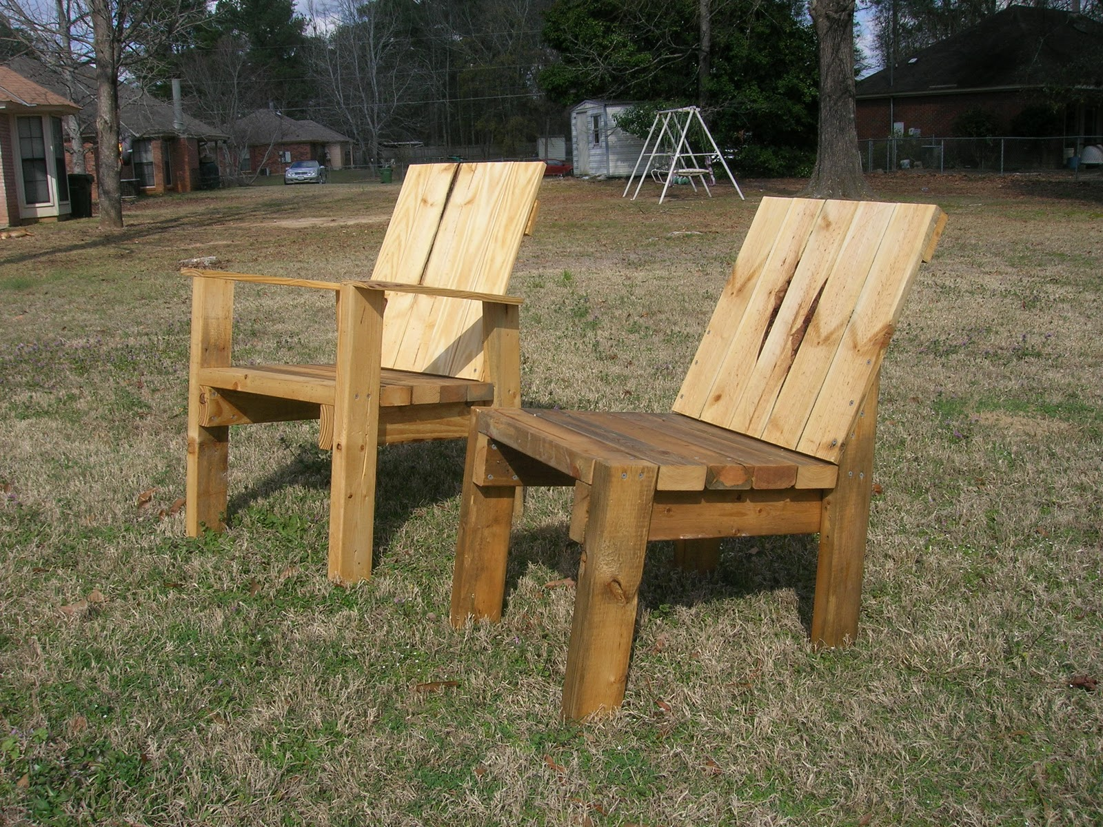 Reclaimed Woodworks 2x4 Chairs