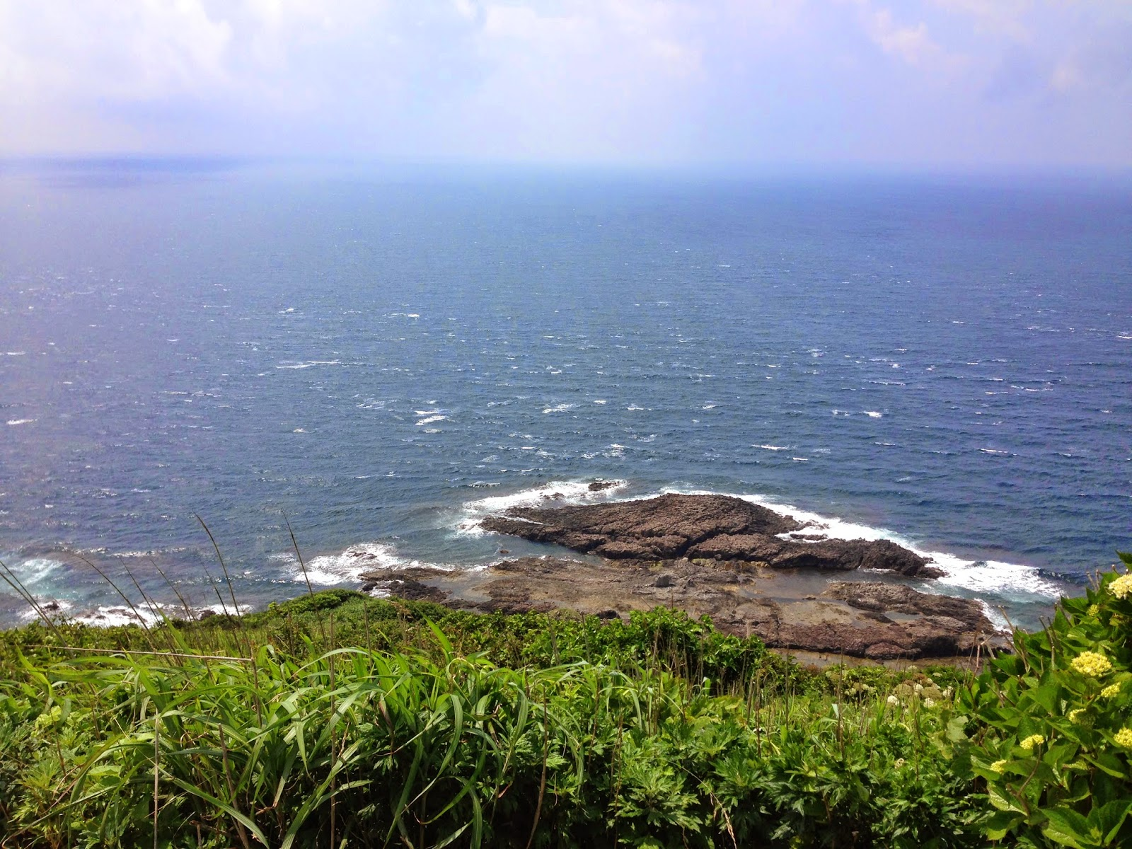 aomori coast, cycling aomori, cycling japan