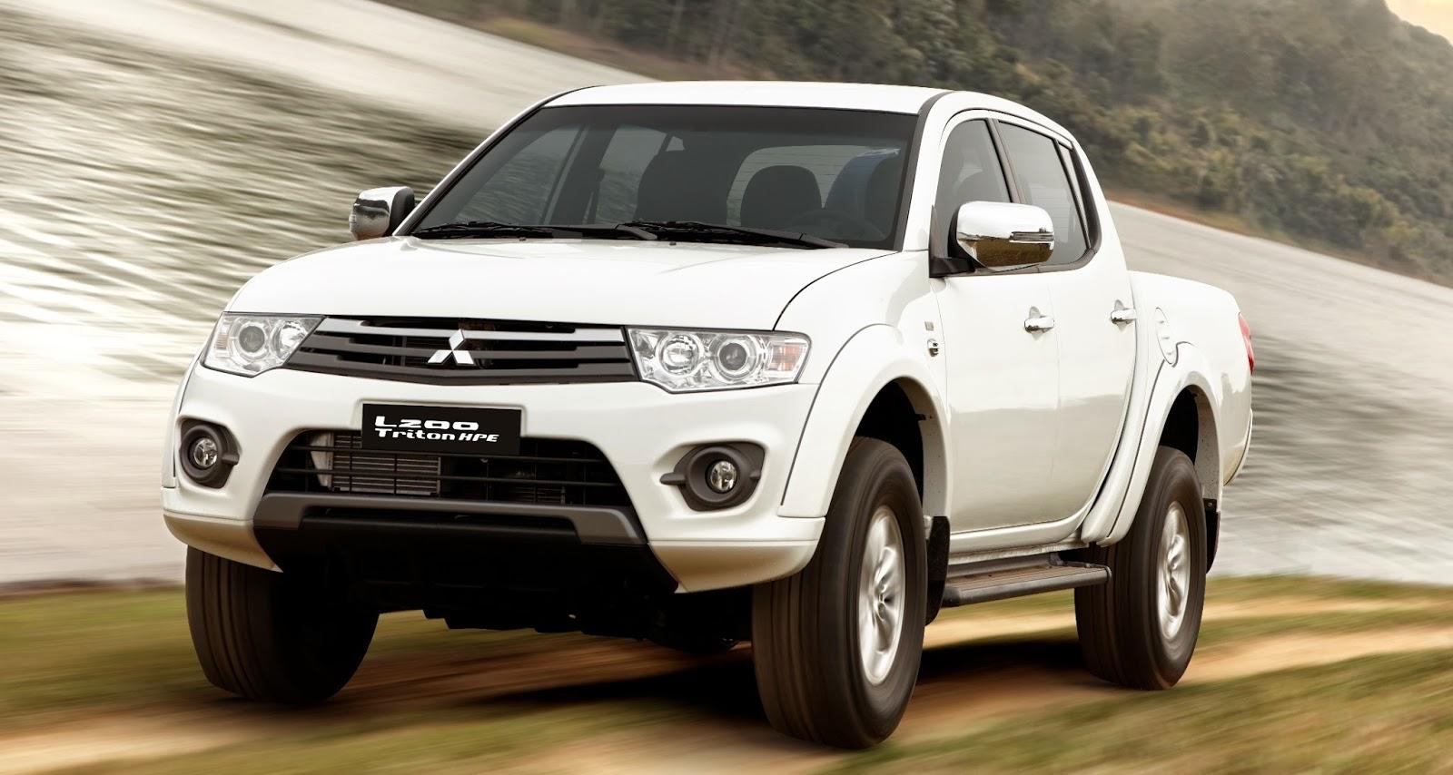 Auto REALIDADE: Mitsubishi atualiza L200 Triton na linha 2014