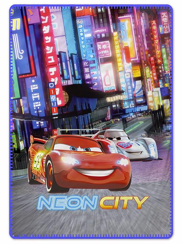 Cars Neon  Gamanatura. Manta polar