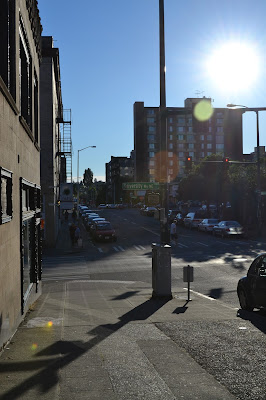 university district, the ave, seattle, summer, city, lifestyle, sun
