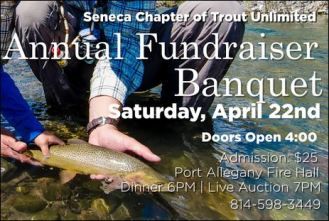4-22 Trout Unlimited Fundraiser Banquet