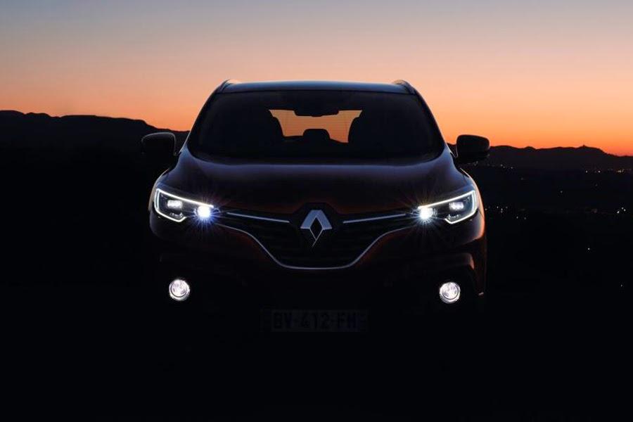 Renault Kadjar (2016) Front