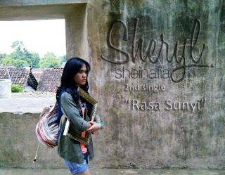 kunci gitar Sheryl Sheinafia Rasa Sunyi