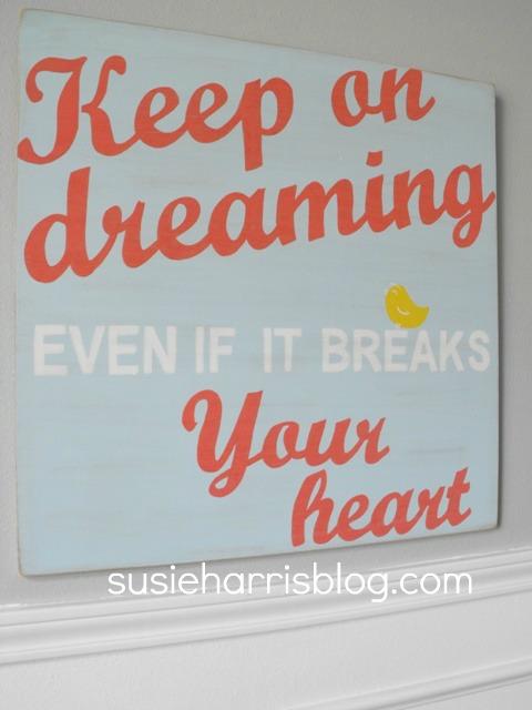 Susie Harris Keep On Dreaming