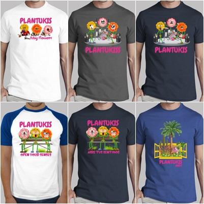 Camisetas Plantukis