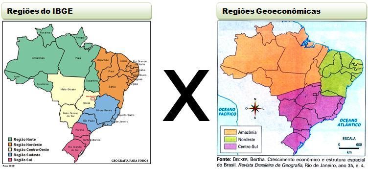 Resultado de imagem para DIVISÃO REGIONAL DO BRASIL