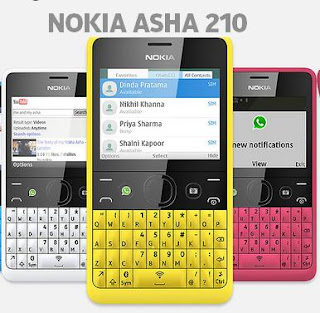 Nokia Asha 210 price in India image
