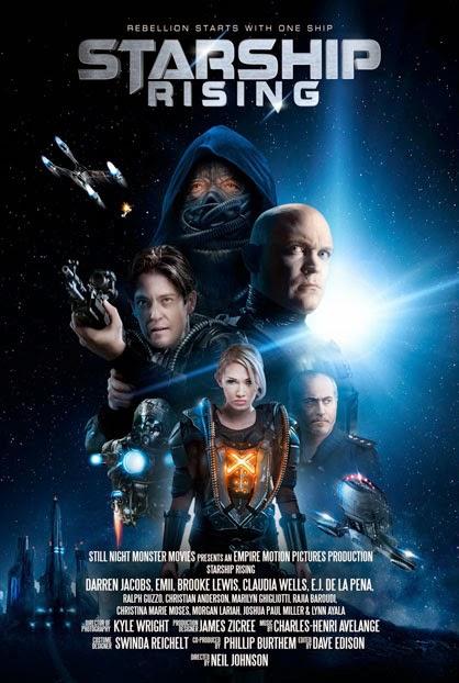 xem phim Cuộc Chiến Tàu Vũ Trụ - Starship: Rising 2014 (Bản Đẹp) full hd vietsub online poster