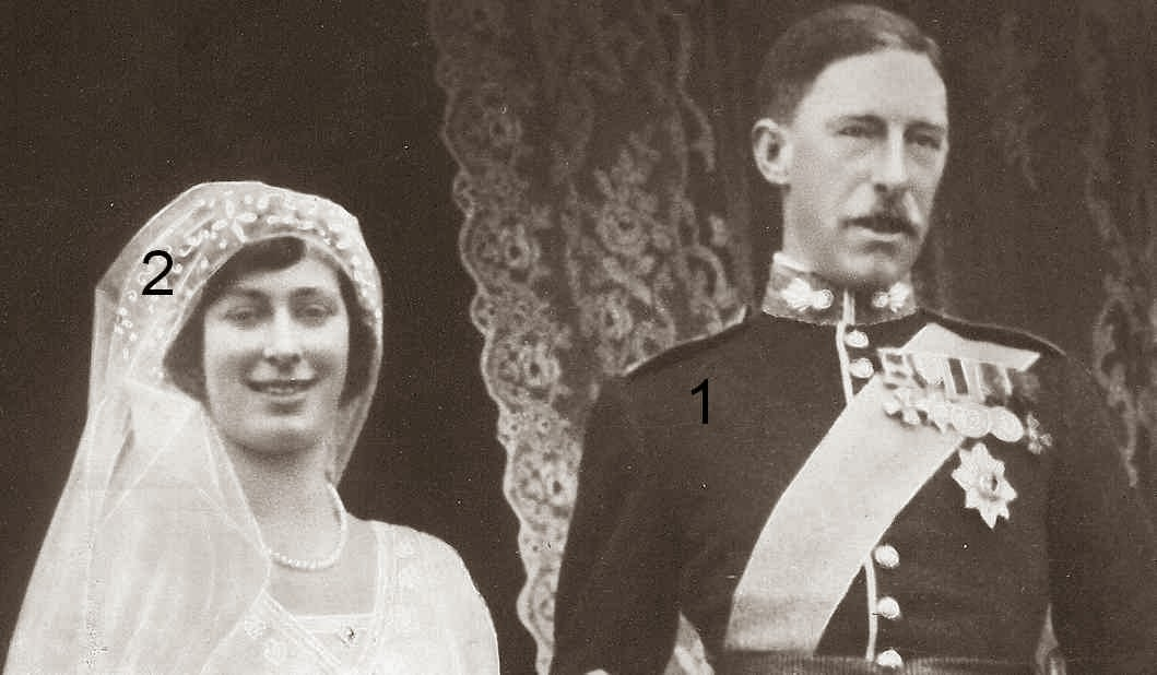 Mariage Mary de Grande-Bretagne et d'Irlande et du vicomte Lascelles-famille royale britannique-Saxe-Cobourg-Gotha-Windsor