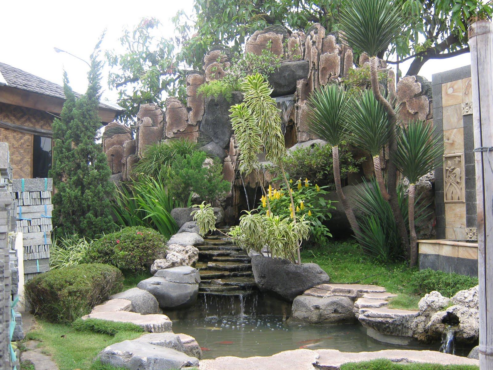 Contoh Karya Desain Taman Lucu Terbaru