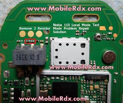 Nokia 110 Local Mode Test Mode Problem Repair Solution
