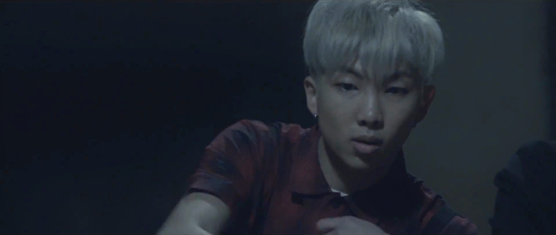 Bangtan's Rap Monster in I Need You MV