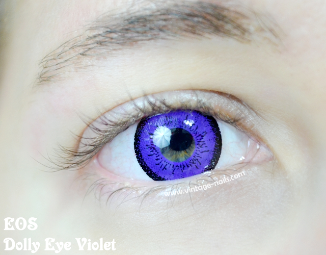 Circle Lenses, Pinky Paradise, EOS, Dolly Eye Violet