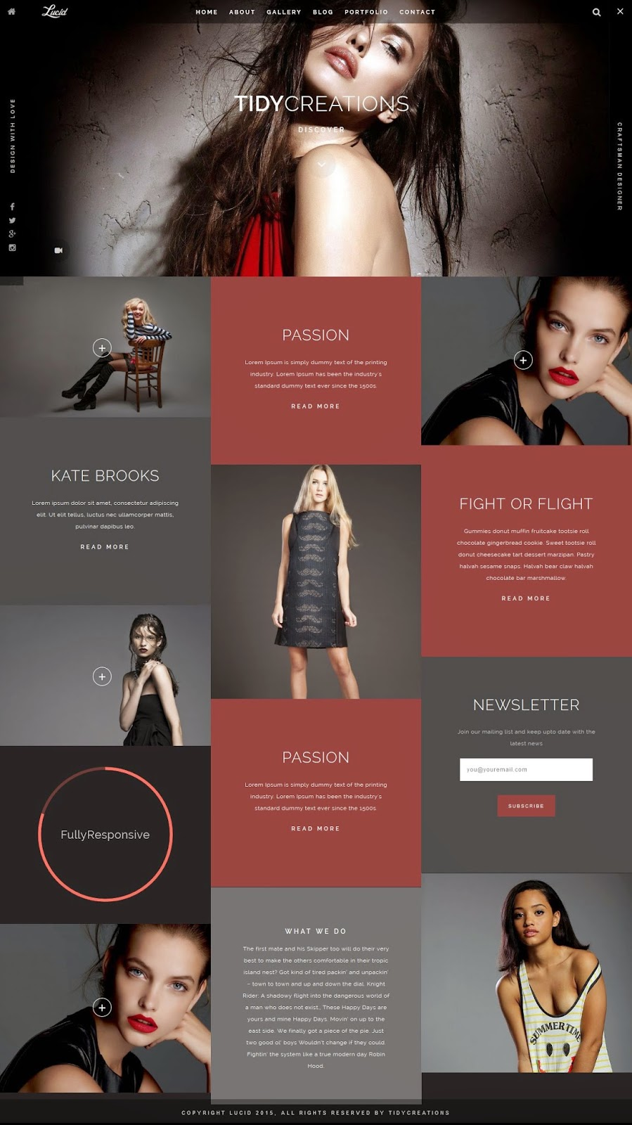 Creative Portfolio WordPress Theme 2015