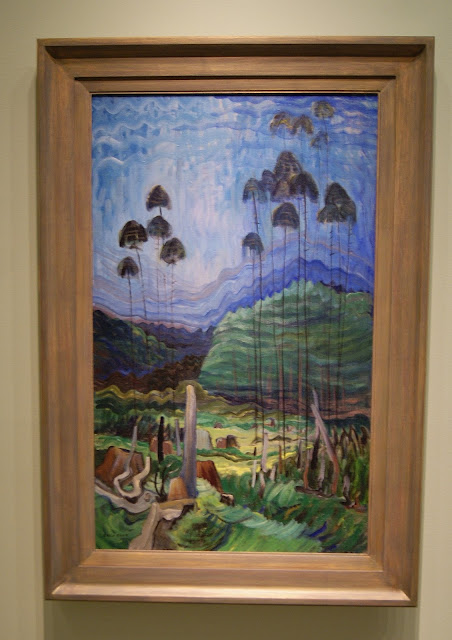 From the Forest to the Sea: Emily Carr in British Columbia Exhibit at Art Gallery of Ontario in Toronto, exhibition, paintings, forest, Canada, artist, woman, AGO, culture, art,artmatters, The Purple Scarf, Melanie.Ps, native, aboriginal, trees in the sky