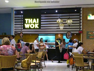 Thai Wok: Fachada da loja do Salvador Shopping