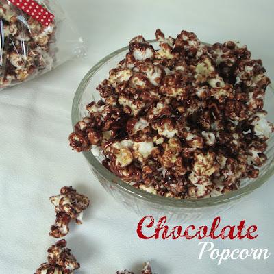 Chocolate, Chocolate & More: Chocolate Popcorn
