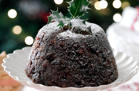 Traditional english christmas pudding recipe the garden for Xmas pudding