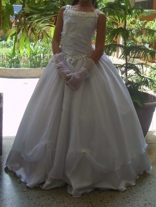 Como planchar vestido de comunion