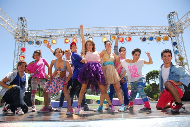 exclusivo de la nueva serie Original de Disney Channel Violetta