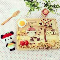 eatzybitzy comida creativa creatividad alimentacion cuqui sushi cute