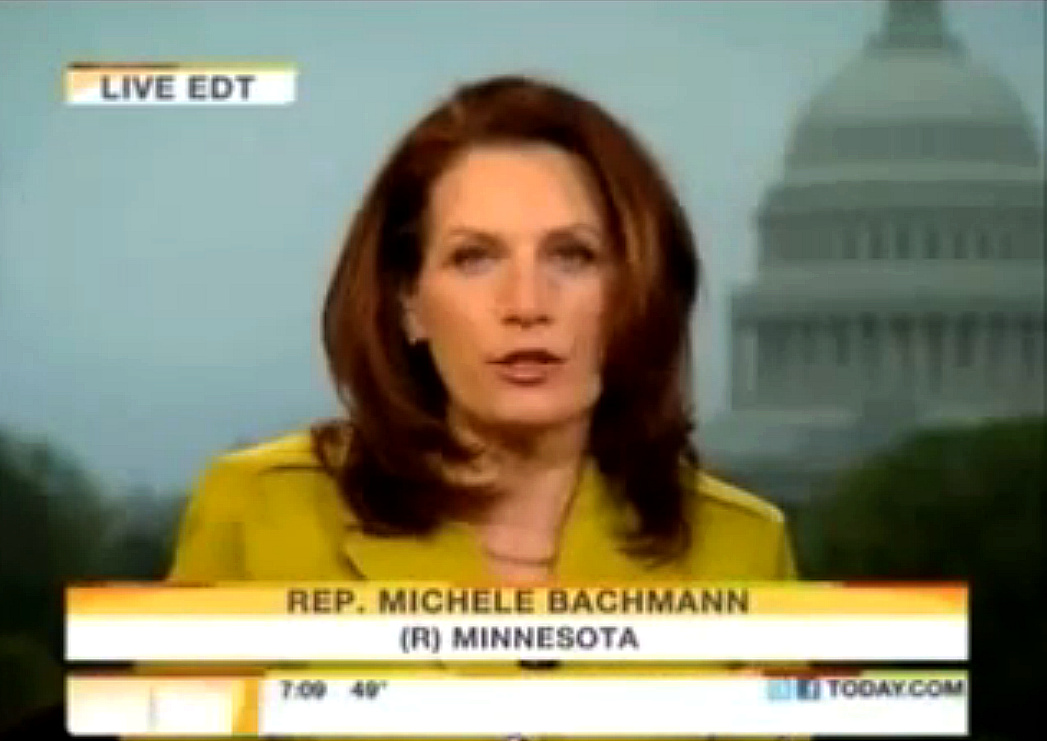 Michele Bachmann Tax Rates are High Enough Already