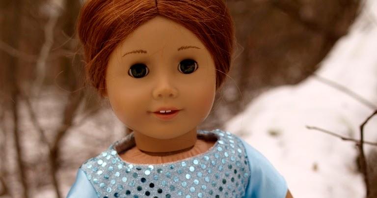 charlie-made: Puppenkleidchen a la Elsa, die Eiskönigin