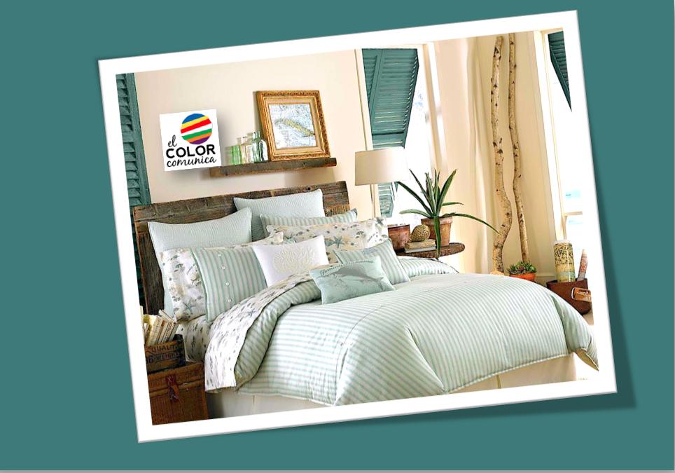 El color comunica tendencia en colores en interiorismo tiel - Colores verdes azulados ...
