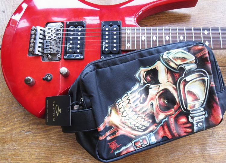 Sanctum Soho Rose Slouch Travel Bag & Biker Skull Large Travel Wash Bag review