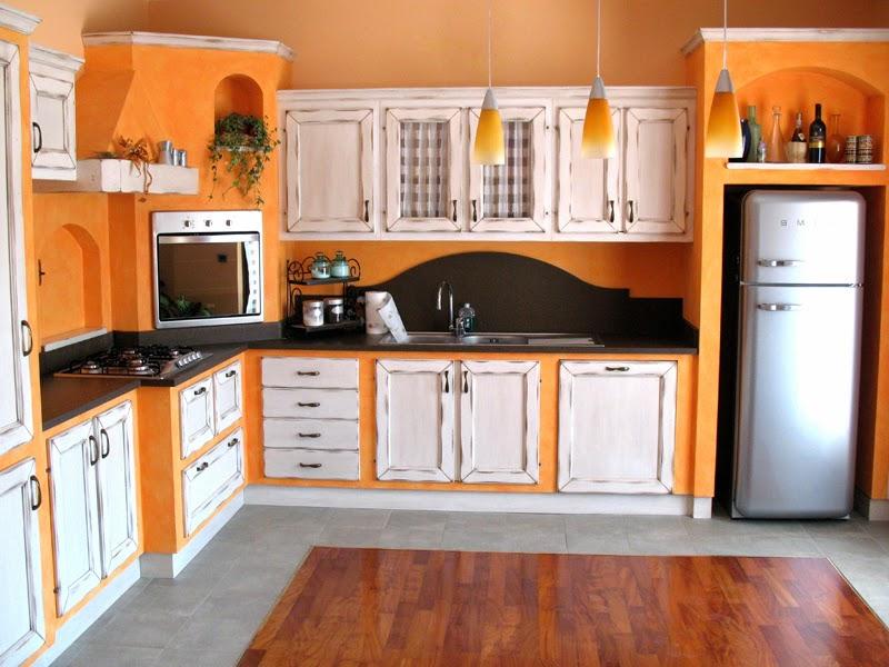 Piastrelle arancioni amazing ecco qualche esempio di cucina with