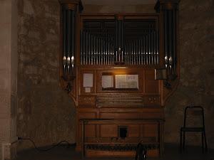 L'orgue de l'église St Léon à Montpellier