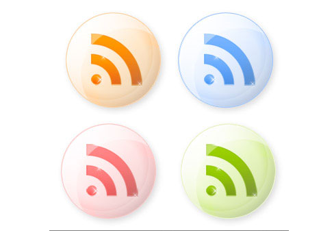 shiny iconsi 100+ Amazing Free RSS Feed Icons Set Download