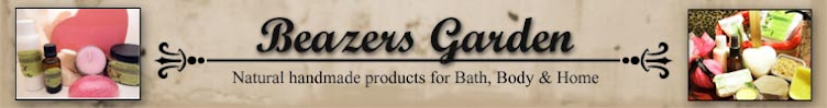 Beazers Garden Handmade Products For Bath, Body & Home Blog.