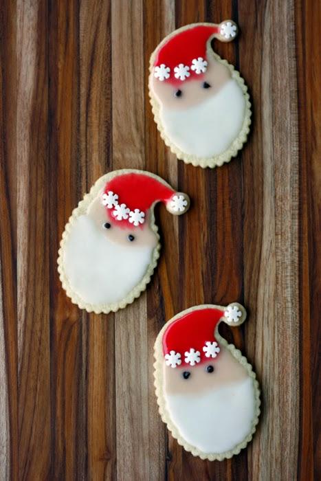 Weihnachtsmann / Nikolaus Kekse