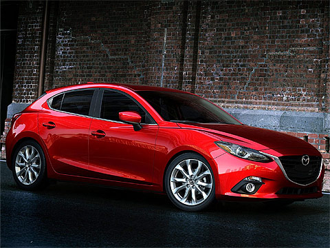 2014 Mazda 3 Japanese car photos