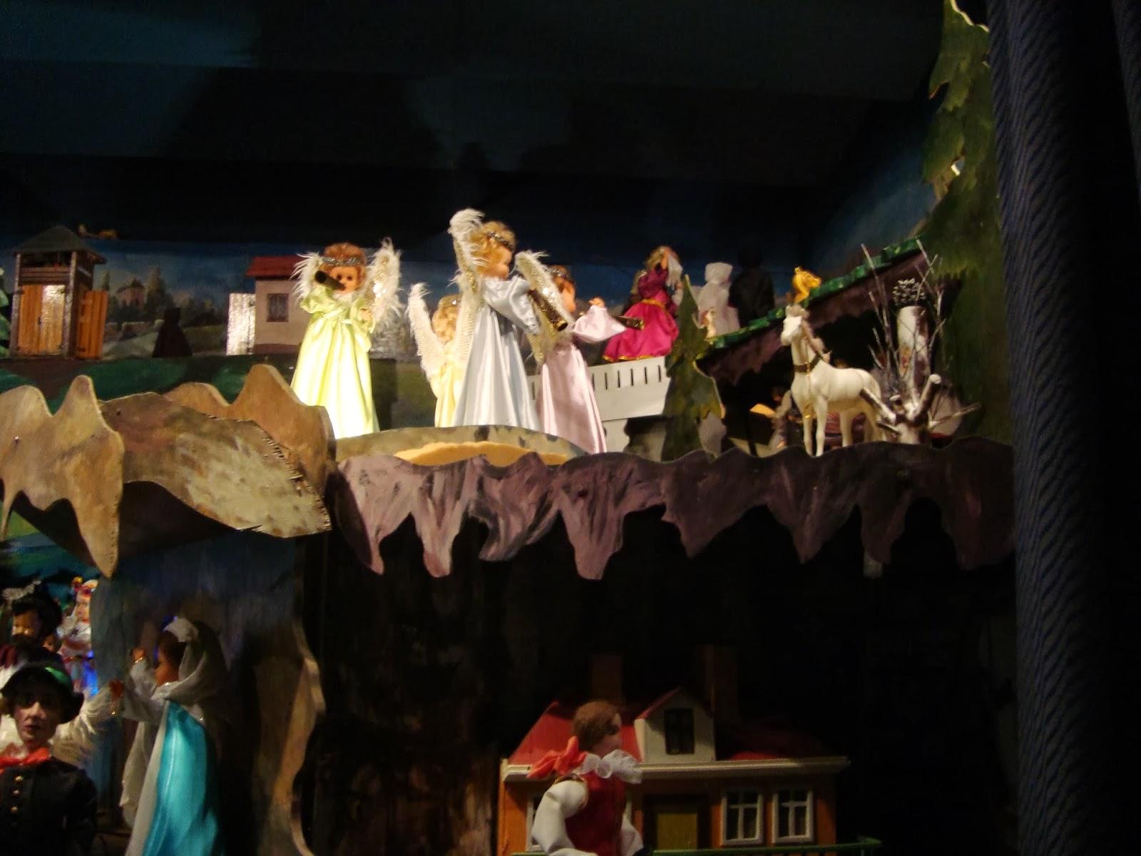 świąteczny toruń, ruchoma szopka, kościół św. Józefa, redemptoryści