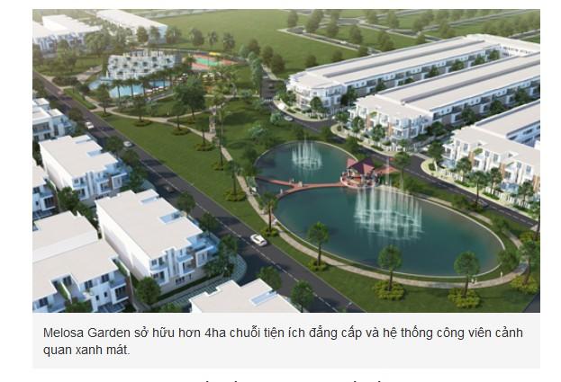 Dự án Melosa Garden vừa được chính thức mở bán từ CĐT Khang Điền