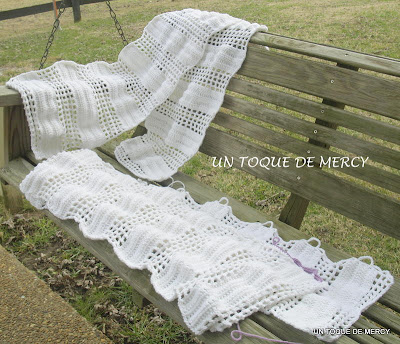 Un toque de mercy: set para bano de crochet